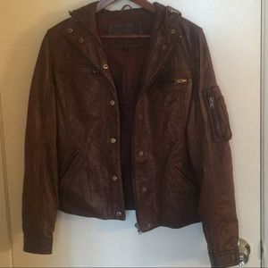 True Religion Leather Jacket
